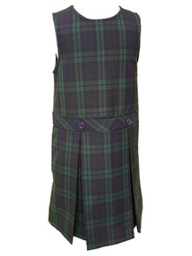 Girls Jumper - Drop Waist in Plaid 79