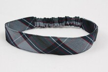 Stretch Headband in Plaid 82