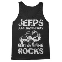 """River Raider """"Jeeps are Like Whiskey"""" Tank"""