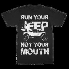 """Run Your Jeep""  Men's Crew Shirt"