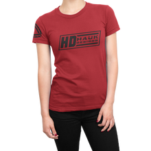 HD Hauk Designs Ladies Crew Shirt