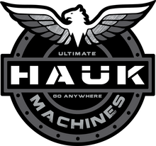 Hauk Machines Shield Stickers