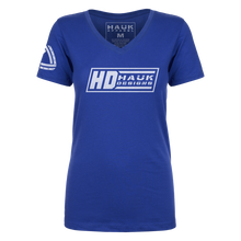 HD Hauk Designs Ladies V-Neck Shirt