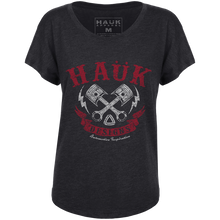 Hauk Pistons Ladies Dolman Shirt