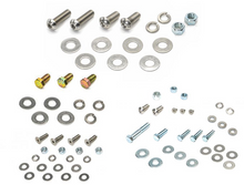 Hardware for Transfer Case Skid, 2 Door Gas Tank Skid, and 2012 Oil Pan/Transmission Skid