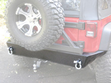 JK Trail Series Rear Bumper