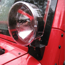 JK Windshield Light Mounts