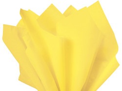 "Light Yellow Tissue Paper 15"" x 20"" - 50 Sheets"