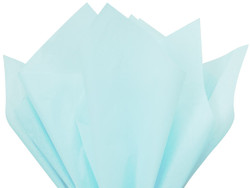 "Light Blue Tissue Paper 15"" x 20"" - 50 Sheets"