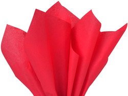 "Red Tissue Paper 15"" x 20"" - 50 Sheets"