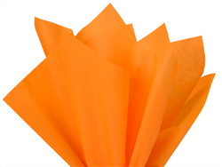 "Tangerine Tissue Paper 15"" x 20"" - 50 Sheets"