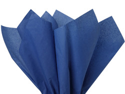 "Dark Blue Tissue Paper 15"" x 20"" - 50 Sheets"
