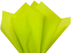 "Citrus Green Tissue Paper 15"" x 20"" - 50 Sheets"