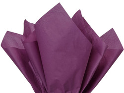 "Plum Tissue Paper 15"" x 20"" - 50 Sheets"