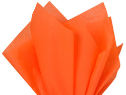 "Orange Tissue Paper 15"" x 20"" - 50 Sheets"