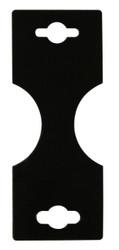 Small Black Necklace/Bracelet Foldover Cards