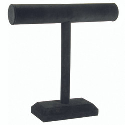 "Black Leatherette 12""H T Bar"