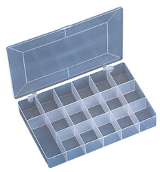 17 Compartment Frosted Organizer