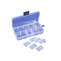 10 Compartments with 6 Dividers