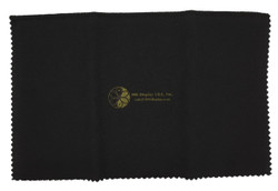 "12""x15"" Black/Yellow Jewelry Polishing Cloth"