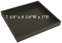 Half Size Black Plastic Utility Trays