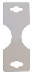 Small White Necklace/Bracelet Fold-over Cards