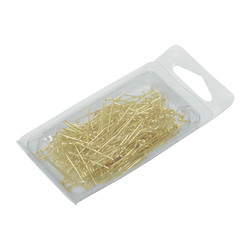 "Gold ""U""-pins - 100 Pcs"