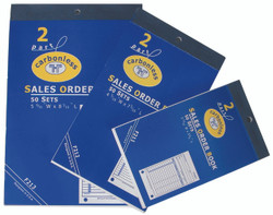 Small 2-Part Sales Order Books