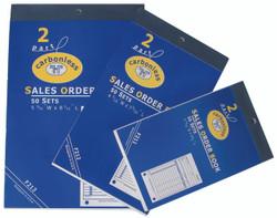Large 2-Part Sales Order Books