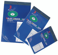 Large 3-Part Sales Order Books