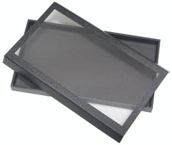 """1 1/2""""H Magnetic Acrylic Lid Display Case - 14 3/4"""" x 8 1/4"""""""