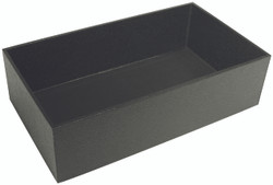 "4"" Deep Standard Black Utility Trays"
