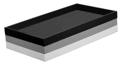 "1"" Deep Standard Grey Utility Trays"