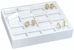 Small Stackable 16 Pair Showcase Earring Display Tray