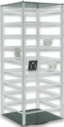 "Rotating Earring Card Stand for 144 pcs of 2"" Cards"