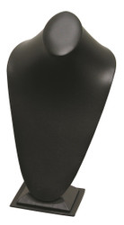 Tall Black Oval top with Slim bottom Base Elegant Necklace Display
