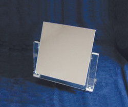 Clear Finish Square Glass Mirror (Til-table)