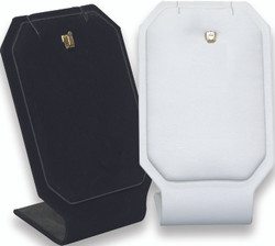 White Single Pendant Display Stand