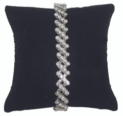 "5"" Black Velvet Pillow Displays"