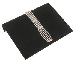 """Black Velvet 10 1/4"""" Wide Bracelet Ramp"""