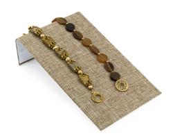 """Burlap Fabric 4 3/4"""" Wide Bracelet Ramp"""
