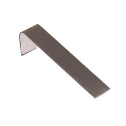 """Steel Grey 1 1/2"""" Wide Single Bracelet Ramp"""