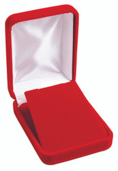 Classic Red Velvet Large Pendant/Earring Gift Box