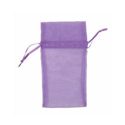 "Purple Organza Bags - 12 Bags/Pack (6""W x 8""H)"