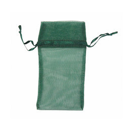 "Hunter Green Organza Bags - 12 Bags/Pack (3""W x 4""H)"
