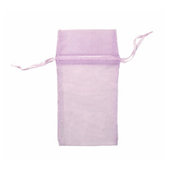 "Lavender Organza Bags - 12 Bags/Pack (2 3/4""W x 3""H)"