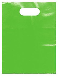 "Lime 12"" x 15"" Patch Handle Bags (100 Bags/Pk)"