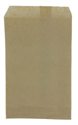 """Plain Kraft Paper Bags - 5"""" x 7"""" - 100Bags/Pack"""