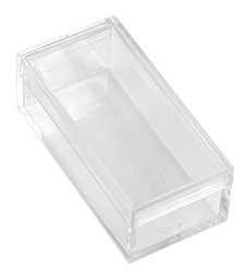 "Acrylic Rectangular Box - 10 Boxes (2"" x 1"" x 3/4"")"