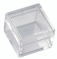 "Mini Square Storage Box -10 Boxes (1"" x 1"" x 3/4"")"